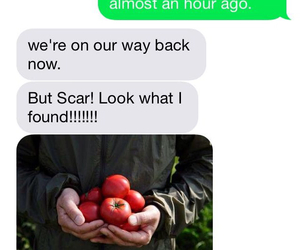 little red riding hood, scarlet, and tomatoes image