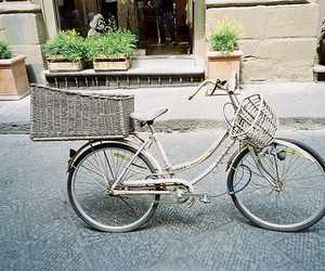 vintage, bike, and photography image