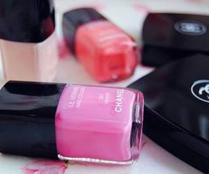 chanel, pink, and nail polish image