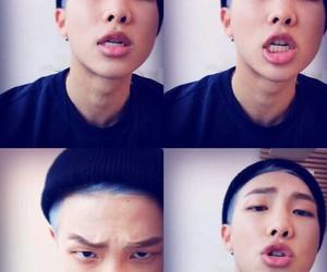 bts, rap monster, and bangtan boys image