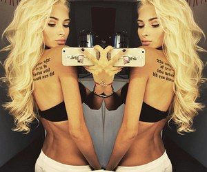 girl, tattoo, and sexz image