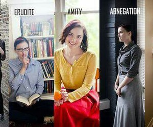 divergent, abnegation, and veronica roth image