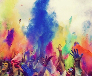 happiness, colors, and people image