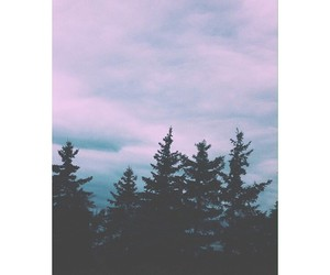 clouds, grunge, and pink image