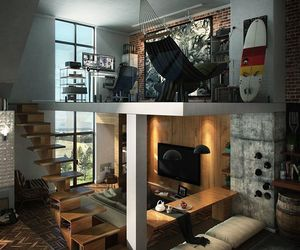 home, house, and room image