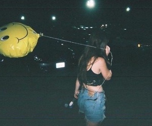 hipster, balloon, and smiley image