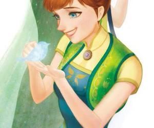 disney princess, frozen, and princess anna image