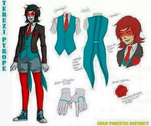 cosplay, homestuck, and terezi image