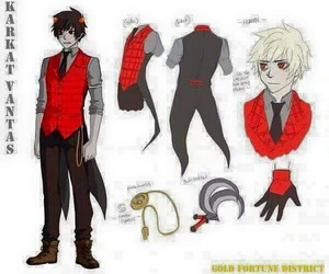 cosplay, homestuck, and vantas image