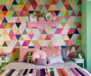 room, colorful, and decor image