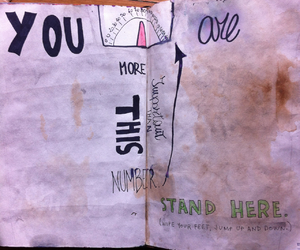 WTJ, wreckthisjournal, and stand here image