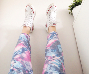colours, converse, and galaxy image