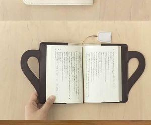 book, diy, and tea image
