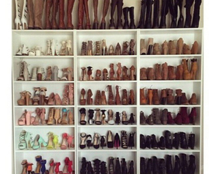 shoes, goals, and closet image