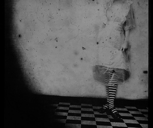 alice, alice in wonderland, and stockings image