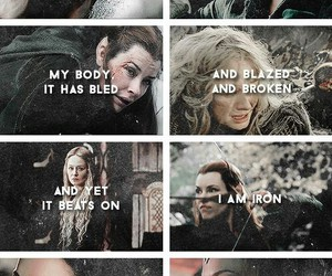 arwen, eowyn, and the hobbit image