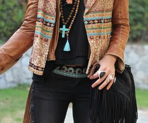 fashion, boho, and bohemian image