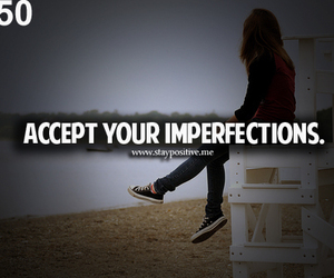 quote and imperfections image
