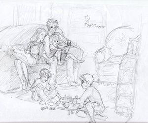 family and harry potter image