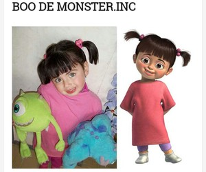 boo, funny, and monster image
