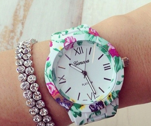 flowers and watch image