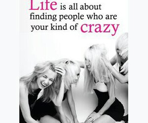 girl, friends, and crazy image