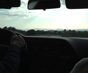 back seat, blue, and dark image