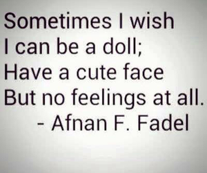doll, feelings, and cute image