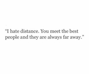 quotes, distance, and meet image