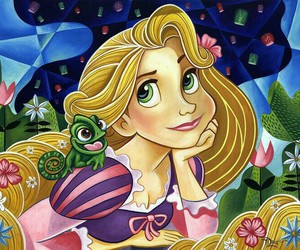 disney and rapunzel image