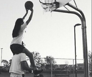 love, couple, and Basketball image