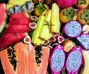 colorful, food, and FRUiTS image