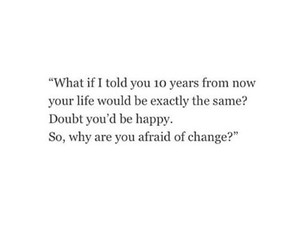 change and quote image