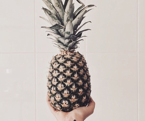hipster, pineapple, and tattoo image