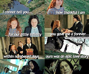 lily potter, harry potter, and snape image