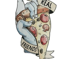 bands, real friends, and pop punk image