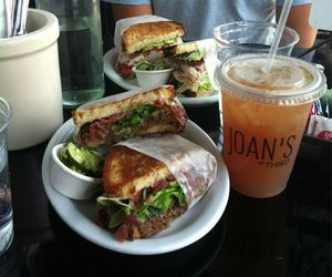 food, sandwich, and lunch image