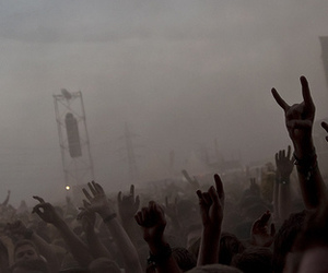 rock, concert, and metal image