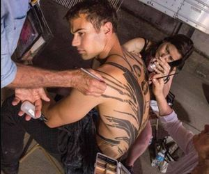 behind the scene, divergent, and cool image