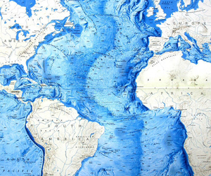 map, blue, and world image