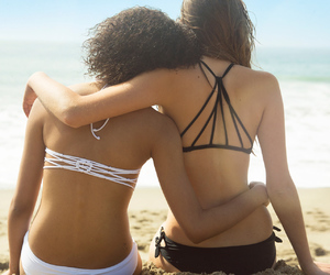 beach, hollister, and style image