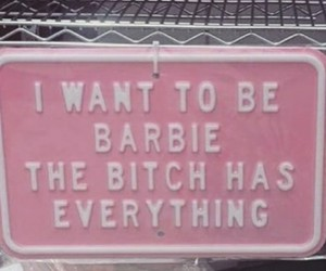 barbie, frases, and grunge image