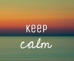 atardecer, calm, and keep image