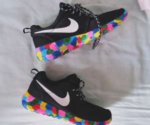 nike and colorful image
