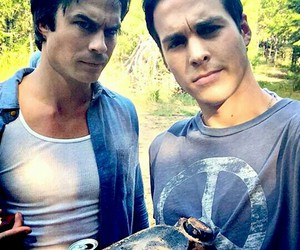 i, chris wood, and ian somerhalder image