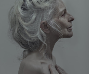 age, aging, and grey hair image
