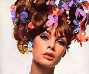 1960s, hair, and model image