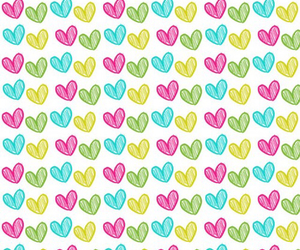 colors, heart, and wallpapers image