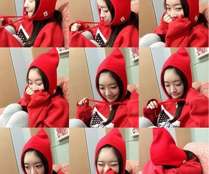 red, dalshabet, and cute image