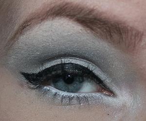 eye makeup, eyeliner, and make up image